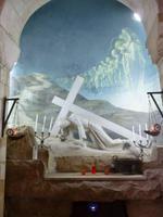 9.Tag, 01.11.2013: Via Dolorosa (Station III - Jesus fällt zum ersten Mal)