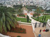 Haifa, Garten der Bahai