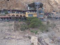 Bergstation der Seilbahn auf den Berg der Versuchung