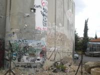 Mauer zwischen Bethlehem und Jerusalem