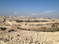0562 Jerusalem - Blick vom Ölberg