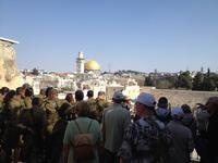 0647 Jerusalem - an der Klagemauer