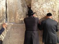 0662 Jerusalem - an der Klagemauer