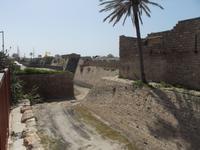 Caesarea, Befestigungen der Kreuzfahrerstadt