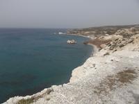 Küste am Aphroditefelsen