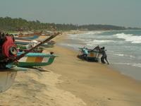 fischerboote in Mamallampuram