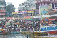 Heilige Stadt Varansi am Ganges