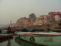 Varanasi in der Dämmerung