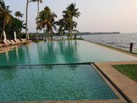 Indien, Kerala, Kumarakom Lake Resort, Pool