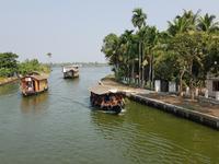 Indien, Kerala, Hausboot