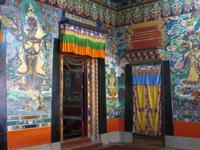 im Kloster Rumtek