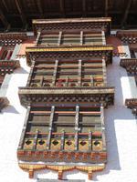 Detail im Paro Dzong