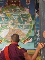 Mönch und Lebenskreis