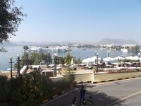 Blick zum Seepalast von Udaipur
