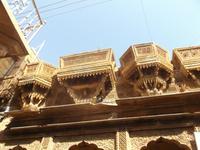 Havelis in der Neustadt von Jaisalmer