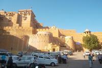 Eingang zu Zitadelle von Jaisalmer