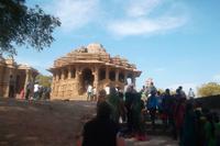 Beliebtes Ausflugsziel: Sonnentempel von Modhera