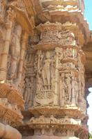 herrliche Hindukunst in Modhera