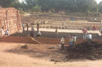 Hier wird eine Ziegelbrennerei errichtet