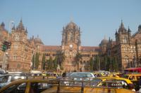 der alte Victoria-Bahnhof von Mumbai