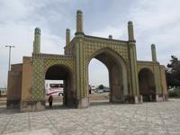 Altes Stadttor in Qazwin