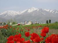 Dar Zagrosgebirge bei Hamadan