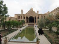 Im Borudjerdi Haus in Kashan