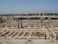 Blick auf Persepolis