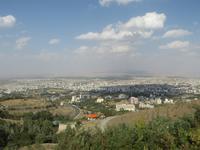Blick auf Hamadan
