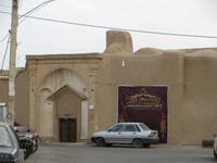 Eingang des Borudjerdi-Haus in Kaschan