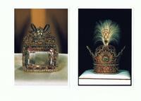 """Teheran, Juwelenmuseum, links: Diamant Darya-e Noor """"Meer des Lichts"""