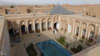 Yazd, Blick von der Dachterrasse unseres Hotels
