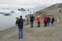 Gletscher Lagune in Südisland