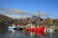 Bootsfahrt zu den Eisbergen in Tasiilaq am 21.07.