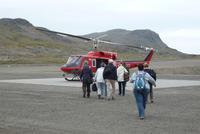 Hubschrauberflug nach Tasiilaq