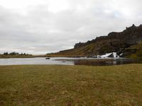 Auch Wasser gibt es im Thingvellir zur Genüge.
