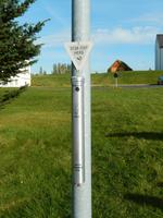 Auch die Aschenbecher sehen in Island etwas anders aus als bei uns.