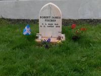 Als kleines Extra zeigte Halldor uns das Grab des Schachspielers Bobby Fischer in Selfoss.