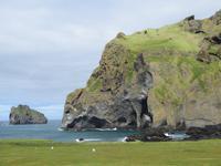 21.06.2016: auf den Westmänner Inseln -- Wer entdeckt den Elefanten?