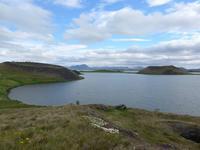 Island, Pseudokrater bei Mückensee