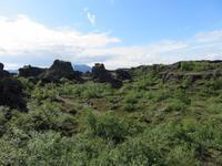 538 Island -  Dimmuborgir - Besuch der Schwarzen Burgen