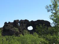 550 Island -  Dimmuborgir - Besuch der Schwarzen Burgen