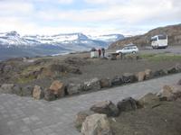 Aussichtspunkt am Faskrudsfjördur