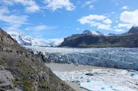 Gletscher Svinafellsjokull