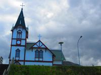 Holzkirche von Húsavik