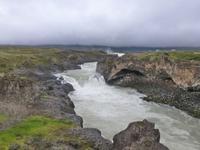 Godafoss der Götterwasserfall
