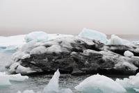 in der Gletscherlagune Jökulsárlón