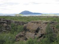 Lavagestein im Myvatn-Gebiet