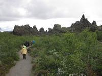 Dimmuborgir - Irrgarten aus Lava