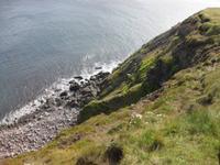 ... die Steilküste